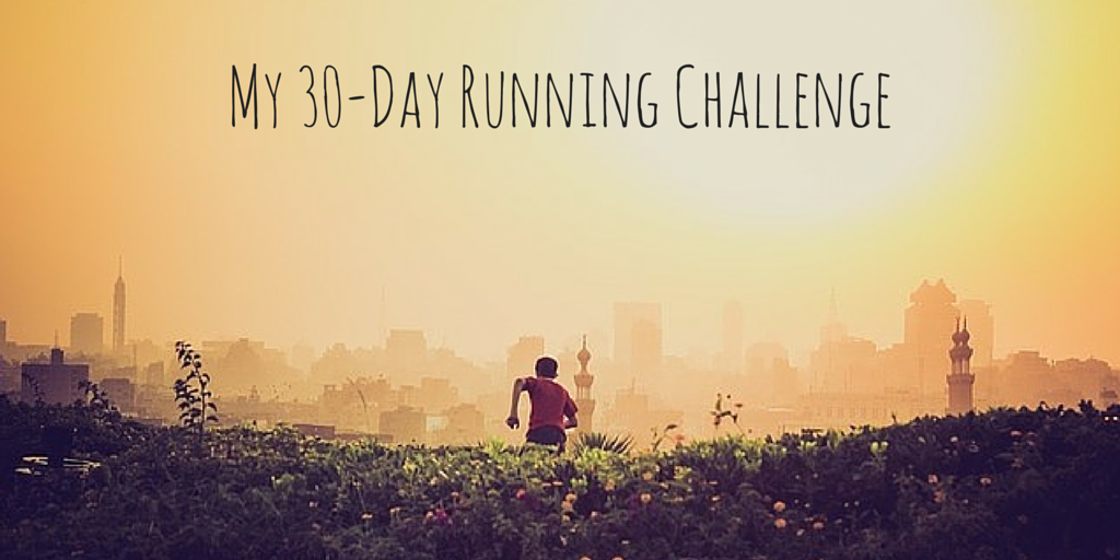 My 30-Day Running Challenge